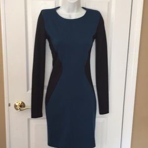 NWT Bar lll Front Row LS dress size S small Macy's